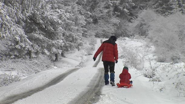 Situación de las carreteras el 5 de enero de 2021 debido a la tormenta de nieve |  Sociedad