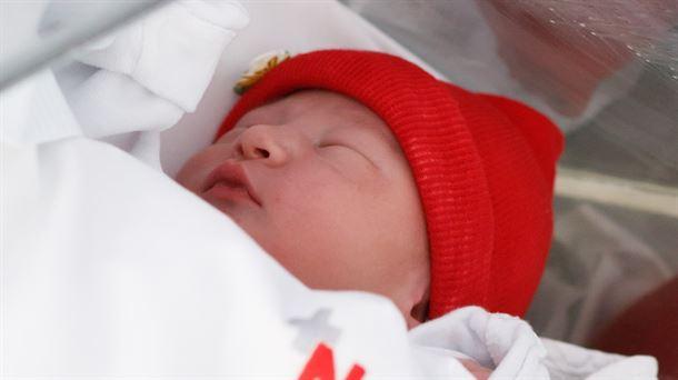 Izan David, el primer hijo nacido en Euskadi y Navarra en 2021 |  Sociedad