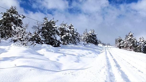 El tiempo en Euskadi y Navarra: aviso amarillo por nieve, 4 y 5 de enero de 2021 |  Sociedad