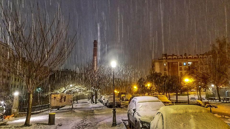 Nieve en el País Vasco