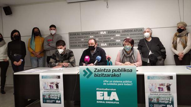 ELA pide «un sistema de asistencia pública decente, universal y gratuito» |  Economía vasca y mundial