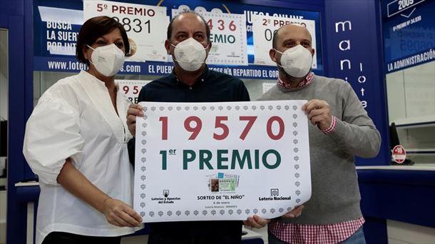 Lotería de «El Niño» 6 de enero de 2021: 19570, primer premio    Sociedad
