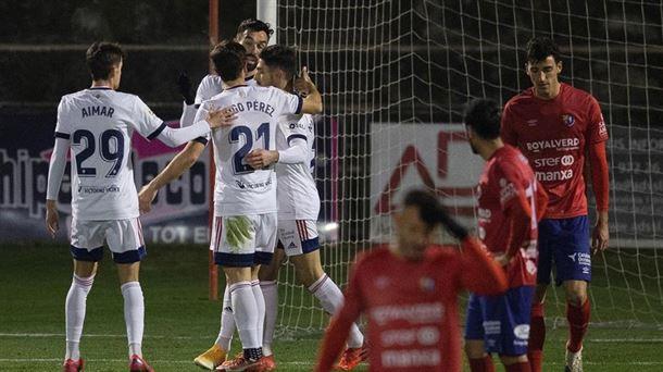 Vídeo: Resumen de Copa del Rey y goles de Olot-Osasuna (0-3) |  Fútbol americano