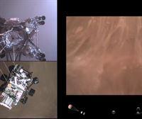 Así fue el aterrizaje del 'Perseverance' en Marte