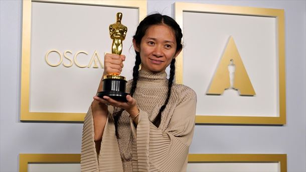 Chloé Zhao, directora de