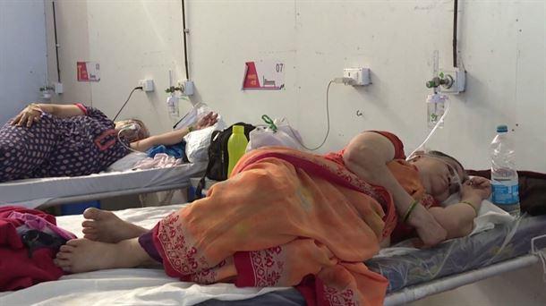 Coronavirus en India. Imagen: EITB Media