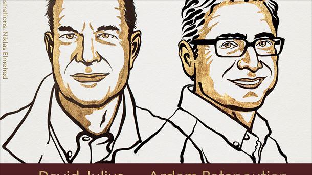 David Julius y Ardem Patapoutian, Premios Nobel de Medicina 2021